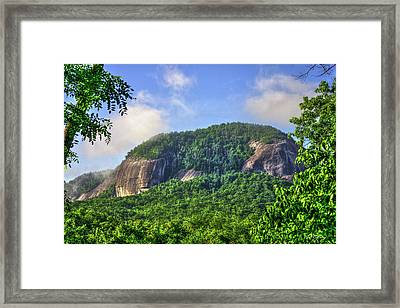 Looking Glass Rock Close Up Framed Print by Reid Callaway