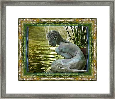 Looking In Framed Print by Bell And Todd