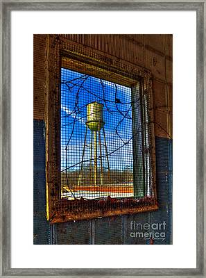 Looking Inside Out Mary Leila Cotton Mill Framed Print by Reid Callaway