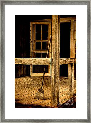 Looking Into A Faded Memory Framed Print by Michael Eingle