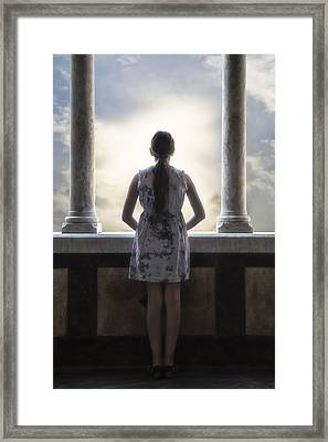 Looking Into The Future Framed Print by Joana Kruse
