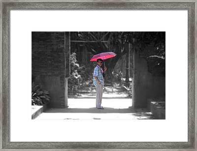 Looking Lost Leandro 4 Framed Print by Jez C Self