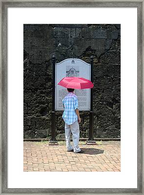 Looking Lost Leandro Framed Print by Jez C Self