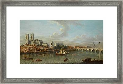 Looking North From Lambeth Framed Print by MotionAge Designs