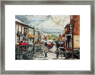 Looking North Framed Print by Thomas Akers