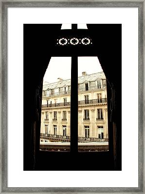 Looking Out Framed Print by Cabral Stock