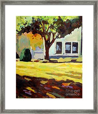 Looking Out Framed Print by Charlie Spear