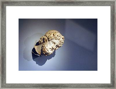 Looking Out Of The Blue Framed Print by Jez C Self