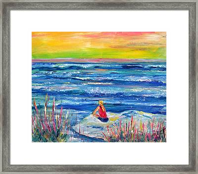 Looking Out Framed Print by Patricia Taylor