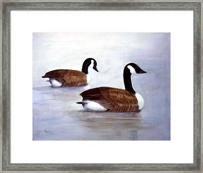Looking Out Framed Print by Sue Coley