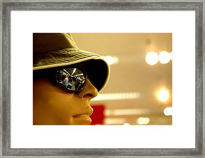 Looking Out To The Future Framed Print by Jez C Self