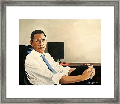 Looking Presidential Framed Print