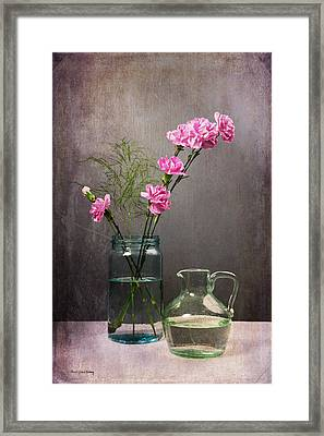 Looking Pretty For You Framed Print