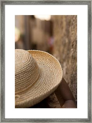 Looking Thrugh Your Eyes Framed Print by Luigi Barbano BARBANO LLC