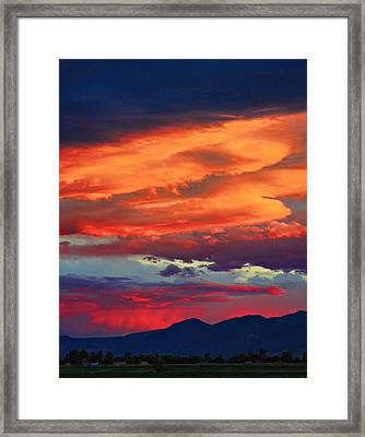 Looking To Boulder Framed Print by James BO  Insogna
