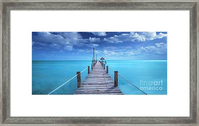 Looking To The Future... Framed Print by Marco Crupi