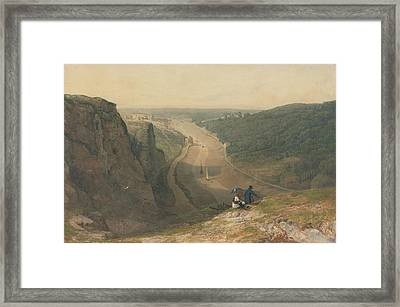 Looking Toward Clifton Framed Print by Francis Danby