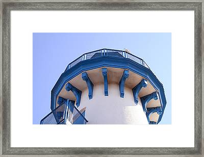 Looking Up Framed Print by Art Block Collections