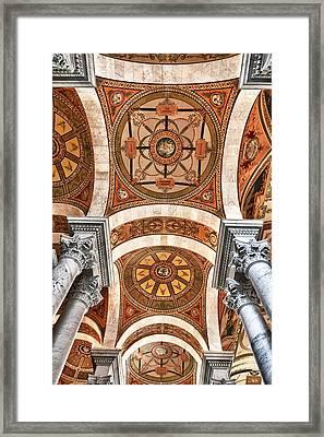 Looking Up Framed Print by Janet Fikar