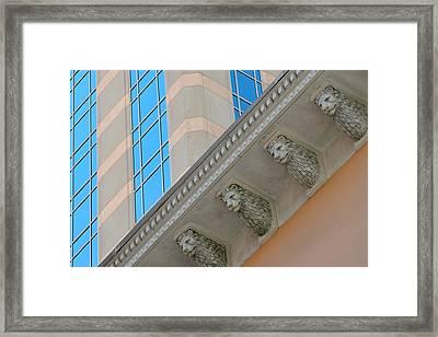 Looking Up Looking Down Framed Print by Dan Holm