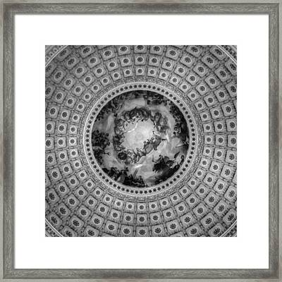 Looking Up Looking Down Framed Print by Greg and Chrystal Mimbs