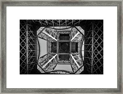 Looking Up Framed Print by Miguel Winterpacht