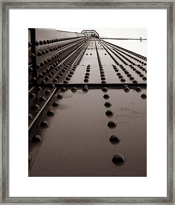 Looking Up Or Looking Down Framed Print by Joseph G Holland