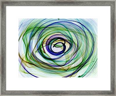 Looking Within Framed Print
