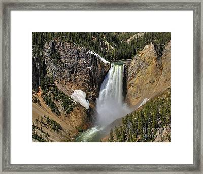 Lookout Point - June Framed Print