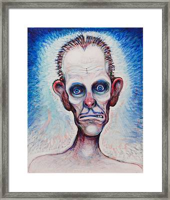 Looks A Fright Framed Print