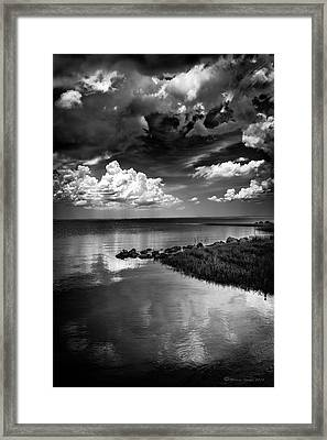 Looks Like Rain Framed Print by Marvin Spates