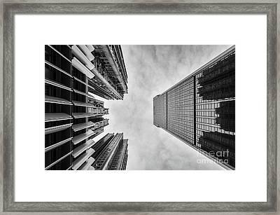 Looming Framed Print by Dean Harte