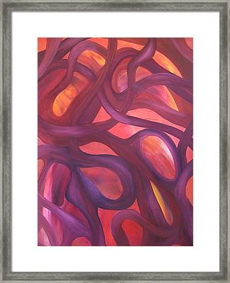 Loop Framed Print by Maurice Noble