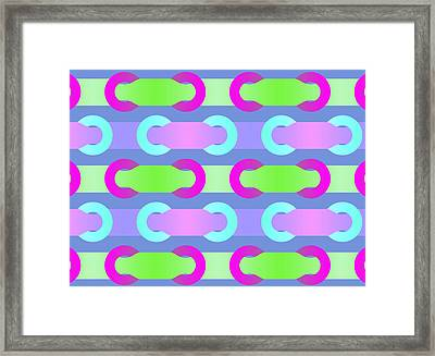 Loop The Loop Framed Print