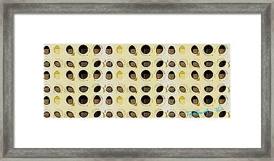 Loopholes  Series 1 Framed Print by Teodoro De La Santa