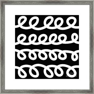 Loops  Framed Print by Edward Fielding