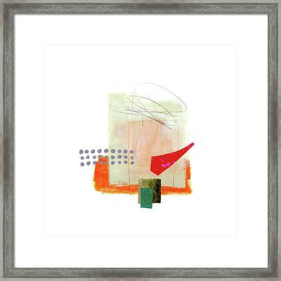Loose Ends #4 Framed Print by Jane Davies