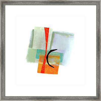 Loose Ends#6 Framed Print by Jane Davies