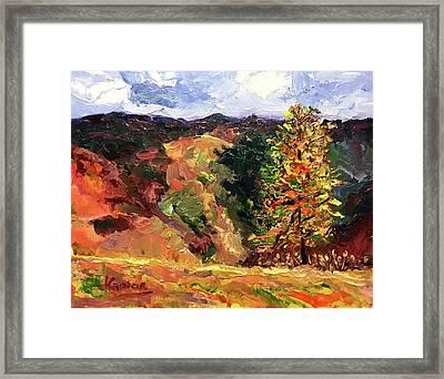 Loose Landscape Framed Print