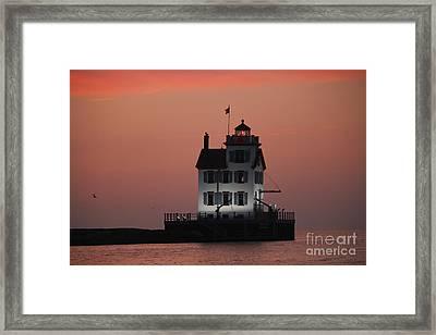 Lorain Lighthouse 1 Framed Print