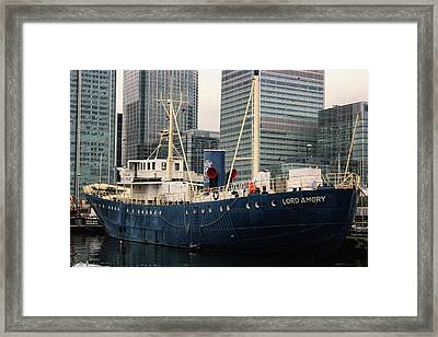 Lord Amory Framed Print by Martin Newman