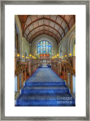 Lord Be Our Light Framed Print