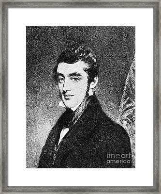 Lord Charles Thomson Framed Print