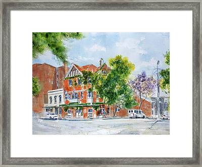 Lord Dudley Hotel Framed Print