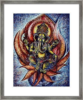 Lord Ganesha 1 Framed Print by Harsh Malik