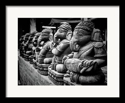 Religious Statues Framed Prints