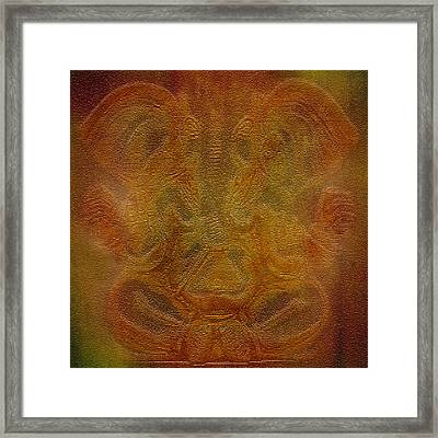 Lord Ganesha Framed Print by Art Spectrum