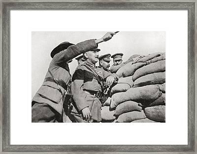 Lord Kitchener S Personal Visit Framed Print by Vintage Design Pics