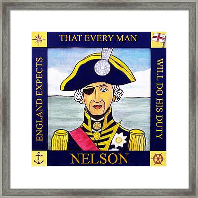 Lord Nelson Framed Print
