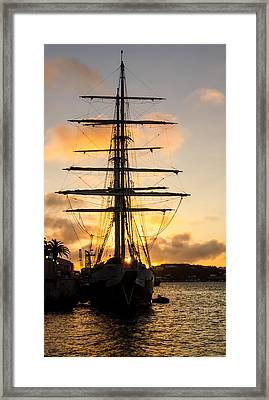 Lord Nelson Sunrise Framed Print